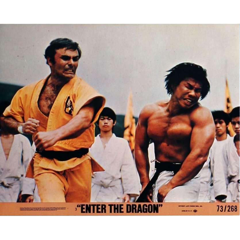 OPERATION DRAGON Photos de film N1 20x25 cm - 1973 - Bruce Lee, Robert Clouse