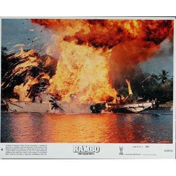 RAMBO II Photo de film N7 20x25 cm - 1985 - Sylvester Stallone, George P. Cosmatos