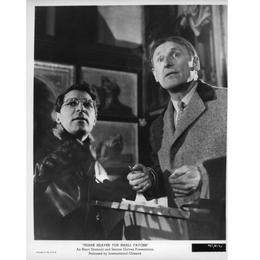 THANK HEAVEN FOR SMALL FAVORS Movie Still N2 8x10 in. USA - 1965 - Jean-Pierre Mocky, Bourvil