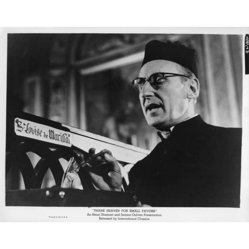 UN DROLE DE PAROISSIEN Photo de presse N5 20x25 cm - 1965 - Bourvil, Jean-Pierre Mocky