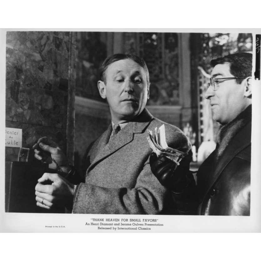 UN DROLE DE PAROISSIEN Photo de presse N6 20x25 cm - 1965 - Bourvil, Jean-Pierre Mocky