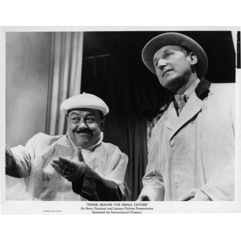 UN DROLE DE PAROISSIEN Photo de presse N10 20x25 cm - 1965 - Bourvil, Jean-Pierre Mocky