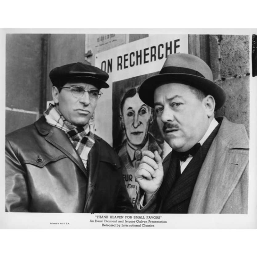THANK HEAVEN FOR SMALL FAVORS Movie Still N13 8x10 in. USA - 1965 - Jean-Pierre Mocky, Bourvil