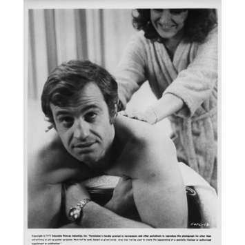 NIGHT CALLER Movie Still N2 8x10 in. USA - 1975 - Henri Verneuil, Jean-Paul Belmondo