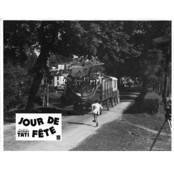 JOUR DE FETE Lobby Card N2 9x12 in. French - 1960'S - Jacques Tati, Paul Frankeur