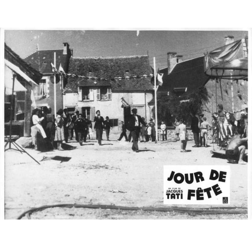 JOUR DE FETE Lobby Card N4 9x12 in. French - 1960'S - Jacques Tati, Paul Frankeur