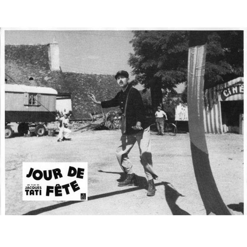 JOUR DE FETE Lobby Card N7 9x12 in. French - 1960'S - Jacques Tati, Paul Frankeur