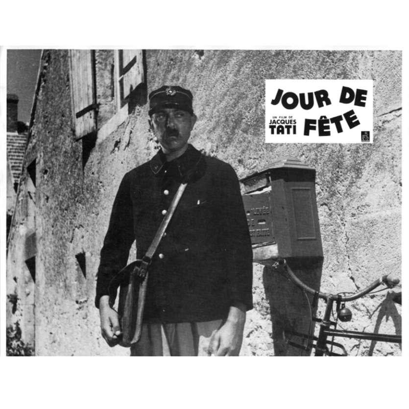JOUR DE FETE Lobby Card N9 9x12 in. French - 1960'S - Jacques Tati, Paul Frankeur