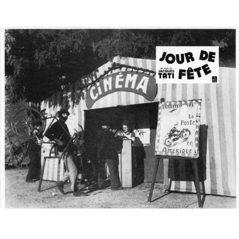 JOUR DE FETE Photo de film N10 21x30 cm - 1960'S - Paul Frankeur, Jacques Tati