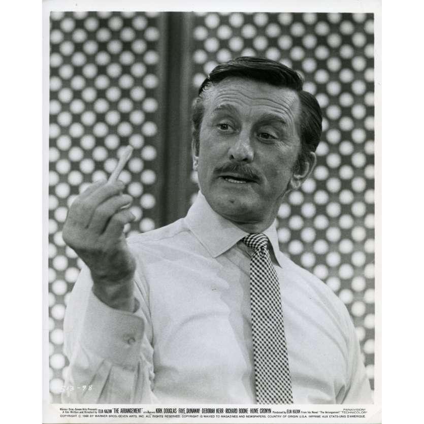 L'ARRANGEMENT Photo de presse N2 20x25 cm - 1969 - Kirk Douglas, Elia Kazan
