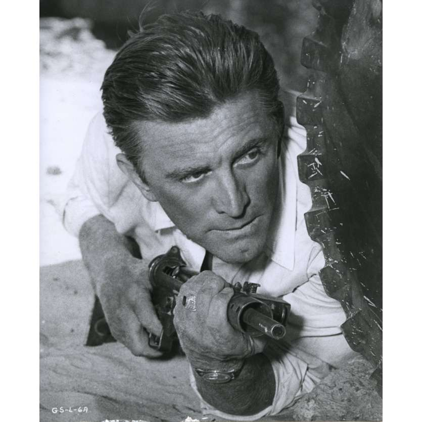 CAST OF A GIANT SHADOW Movie Still N1 8x10 in. USA - 1966 - Melville Shavelson, Kirk Douglas