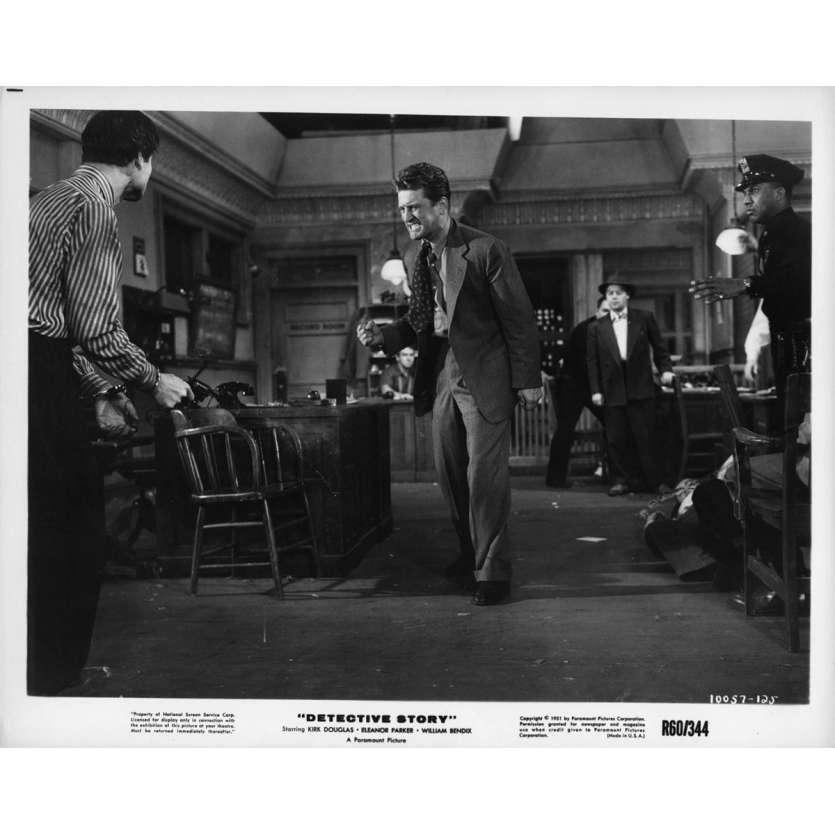 HISTOIRE DE DETECTIVE Photo de presse 20x25 cm - R1960 - Kirk Douglas, William Wyler