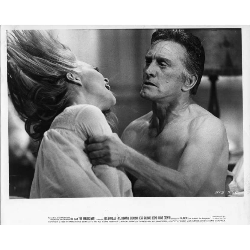 THE ARRANGEMENT Movie Still N3 8x10 in. USA - 1969 - Elia Kazan, Kirk Douglas