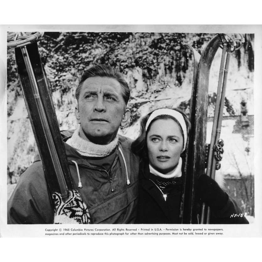 LES HEROS DE TELEMARK Photo de presse N2 20x25 cm - 1966 - Kirk Douglas, Anthony Mann