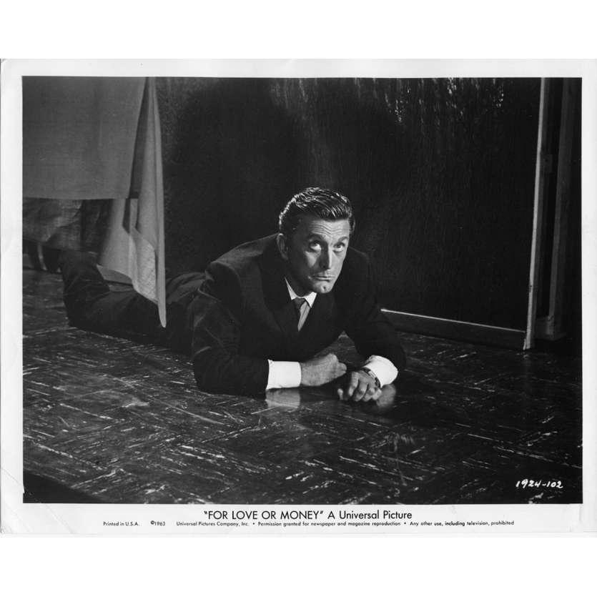 FOR LOVE OR MONEY Movie Still N1 8x10 in. USA - 1963 - Michael Gordon, Kirk Douglas