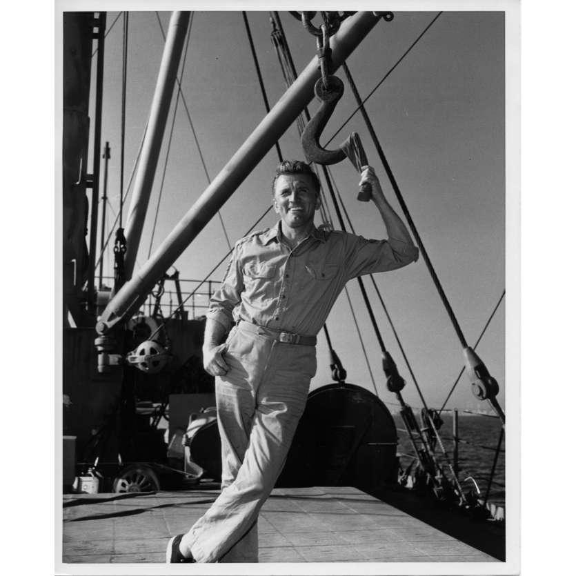 UN HOMME DOIT MOURIR Photo de presse N4 20x25 cm - 1963 - Kirk Douglas, George Seaton