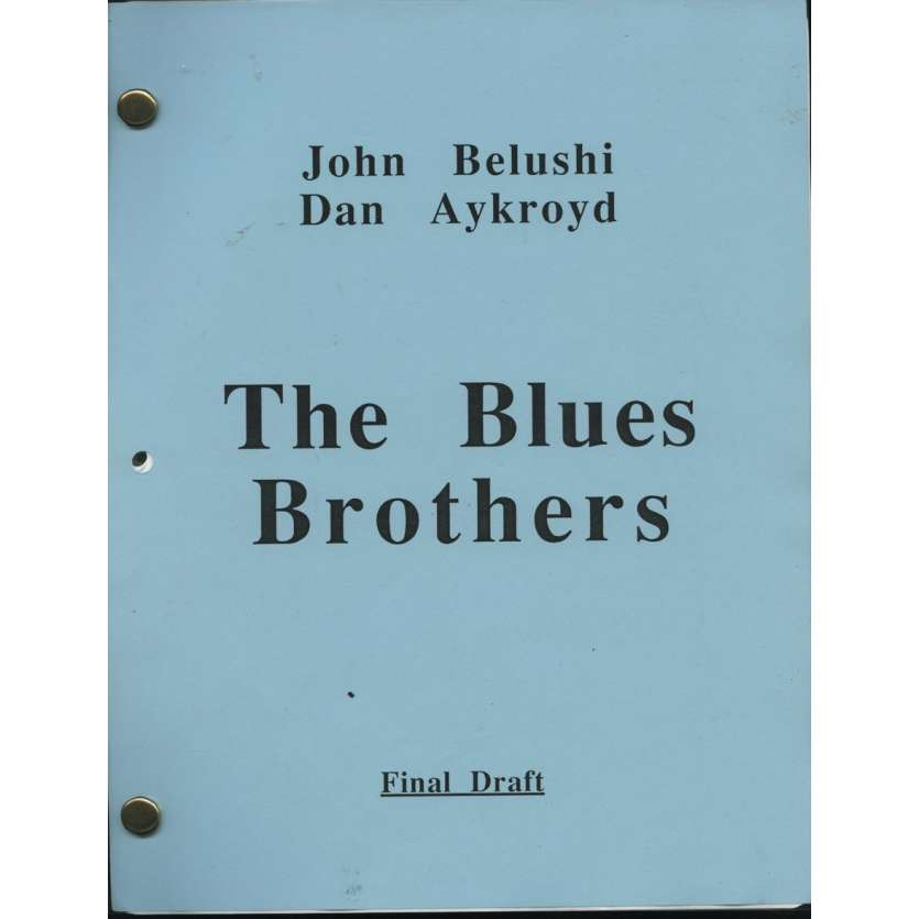THE BLUES BROTHERS Original Script 1979 ! Dan Aycroyd John Belushi