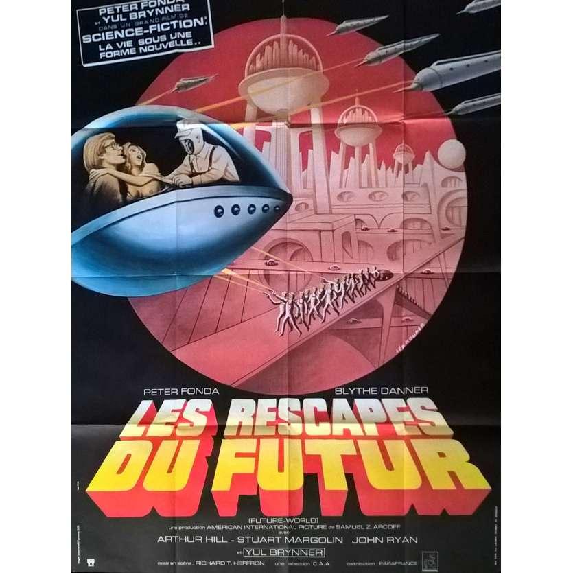FUTURE WORLD French Movie Poster 47x63 - 1976 - Richard T. Heffron, Peter Fonda