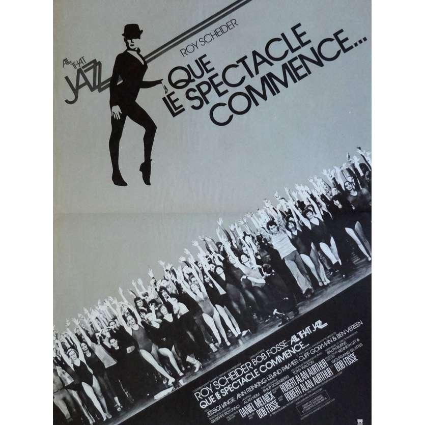 QUE LE SPECTACLE COMMENCE Affiche de film 40x60 - 1979 - Bob Fosse