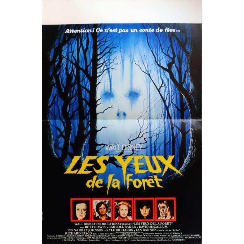 LES YEUX DE LA FORET Affiche de film 40x60 cm - 1980 - Bette Davis, John Hough