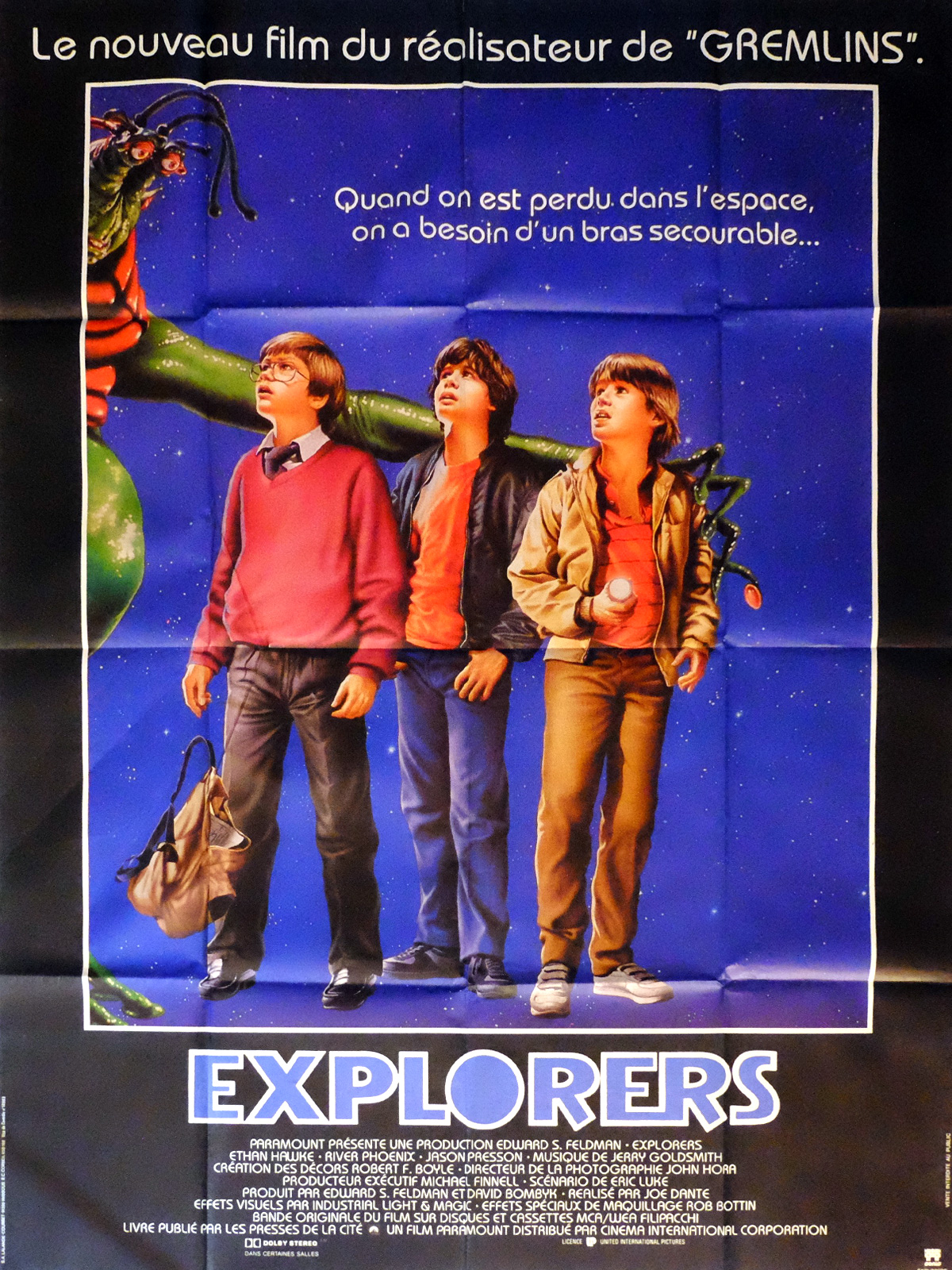 EXPLORERS Movie Poster