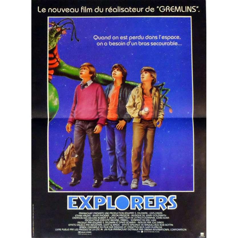 EXPLORERS Movie Poster 15x21 in. French - 1985 - Joe Dante, Ethan Hawke