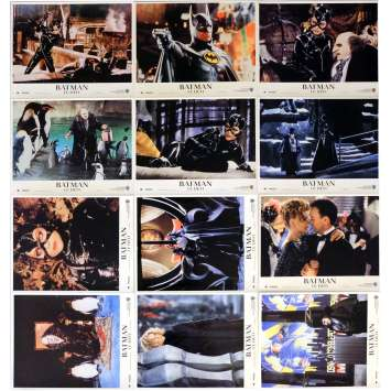 BATMAN 2 LE DEFI Photos de film x12 21x30 cm - 1992 - Michael Keaton, Tim Burton