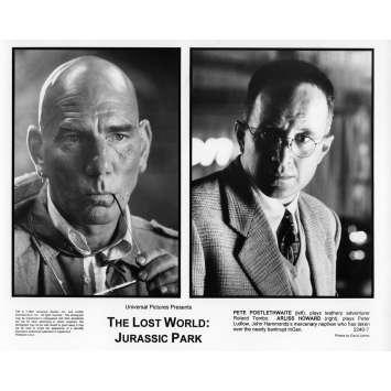 JURASSIC PARK 2 LE MONDE PERDU Photo de presse N8 20x25 cm - 1997 - Jeff Goldblum, Steven Spielberg