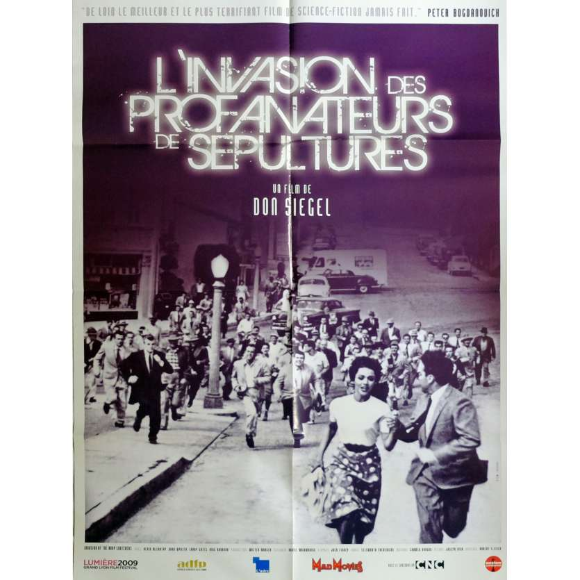 INVASION OF THA BODY SNATCHERS Movie Poster 32x47 in. French - R2015 - Don Siegel, Kevin McCarthy