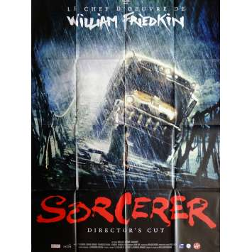 SORCERER Movie Poster 47x63 in. French - R2015 - William Friedkin, Roy Sheider