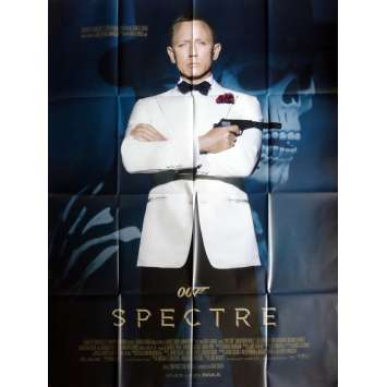 SPECTRE Movie Poster def 47x63 in. French - 2015 - Sam Mendes, Daniel Craig