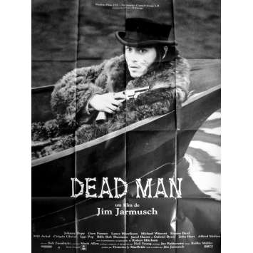 DEAD MAN Affiche de film 120x160 cm - 1995 - Johnny Depp, Jim Jarmush