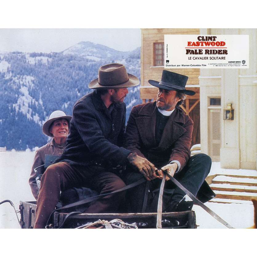 PALE RIDER Lobby Card N1 9x12 in. French - 1985 - Clint Eastwood,