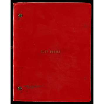 BODY DOUBLE Movie Script 9x12 in. USA - 1984 - Brian de Palma, Melanie Griffith