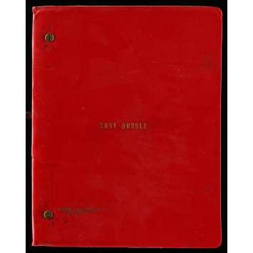 BODY DOUBLE Scénario 21x30 cm - 1984 - Melanie Griffith, Brian de Palma