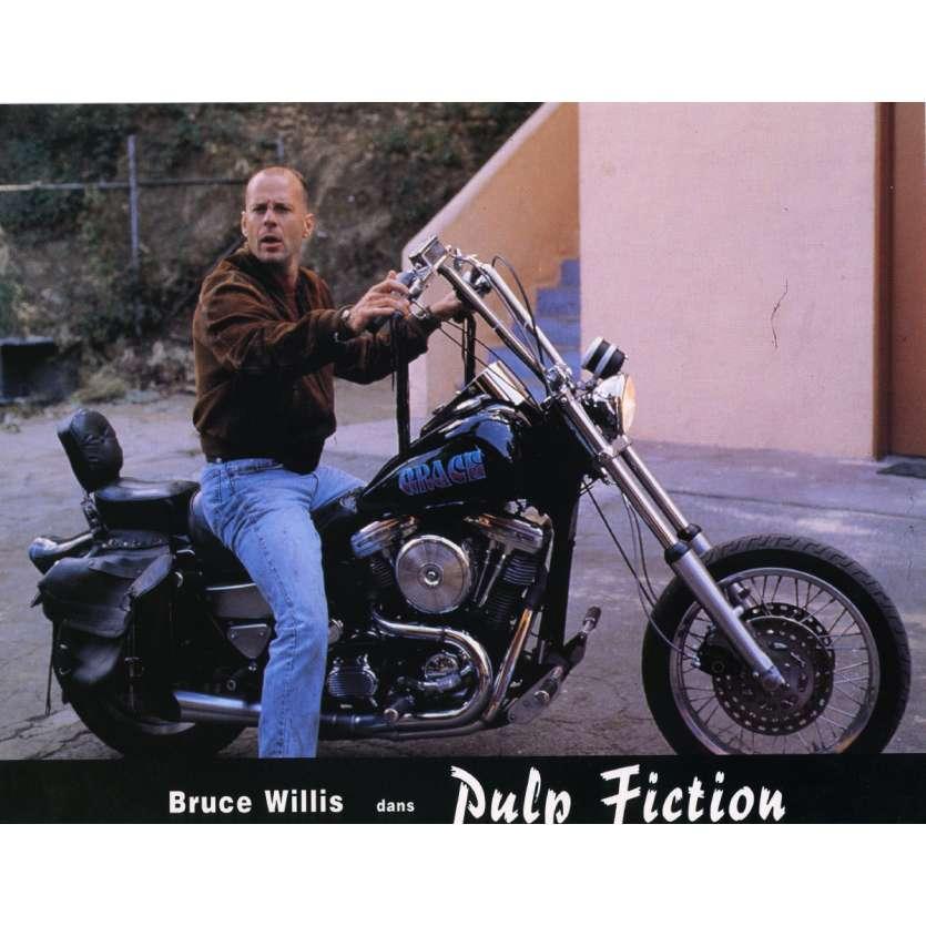 PULP FICTION Photo de film N9 21x30 cm - 1994 - Uma Thurman, Quentin Tarantino