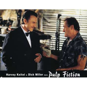 PULP FICTION Lobby Card N1 9x12 in. French - 1994 - Quentin Tarantino, Uma Thurman