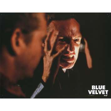 BLUE VELVET Lobby Card N6 9x12 in. French - 1986 - David Lynch, Isabella Rosselini