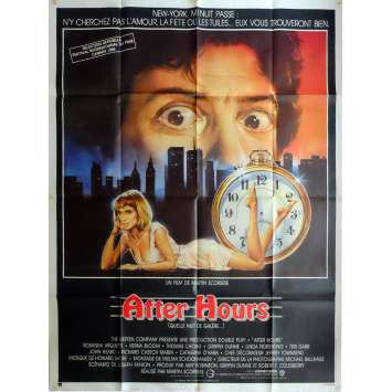 AFTER HOURS Movie Poster 47x63 in. French - 1985 - Martin Scorsese, Griffin Dunne