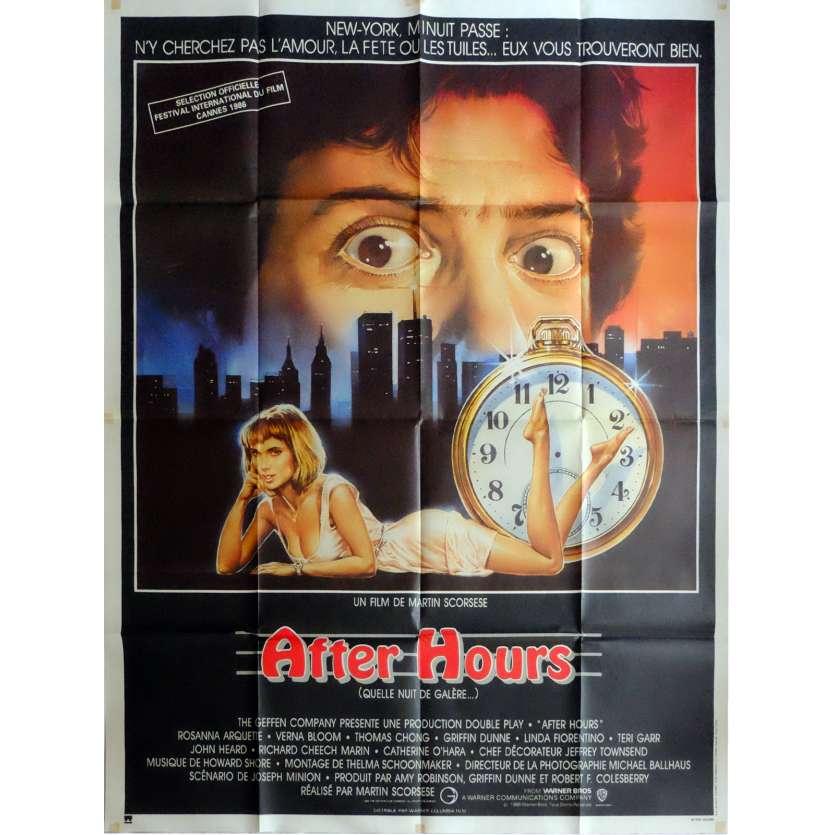 AFTER HOURS Affiche de film 120x160 cm - 1985 - Griffin Dunne, Martin Scorsese