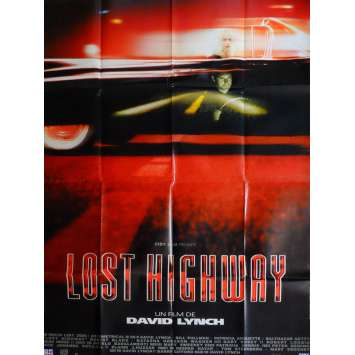 LOST HIGHWAY Movie Poster 47x63 in. French - 1997 - David Lynch, Patricia Arquette