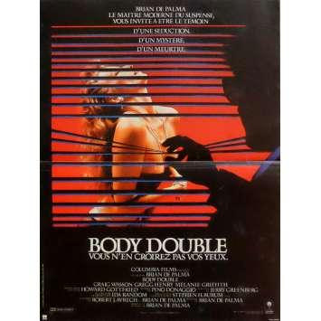 BODY DOUBLE Affiche de film 40x60 cm - 1984 - Melanie Griffith, Brian de Palma