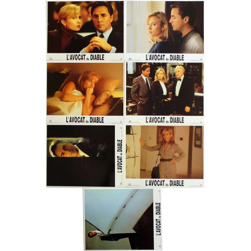L'AVOCAT DU DIABLE Photos de film x7 21x30 cm - 1997 - Al Pacino, Taylor Hackford