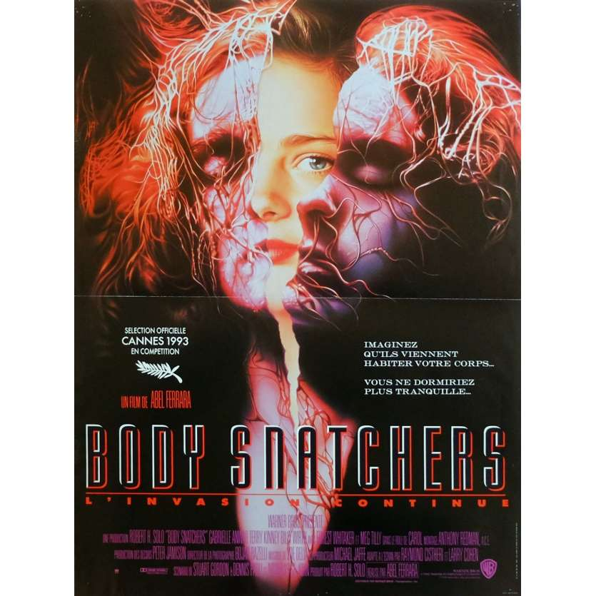 BODY SNATCHERS Movie Poster 15x21 in. French - 1995 - Abel Ferrara, Meg Tilly