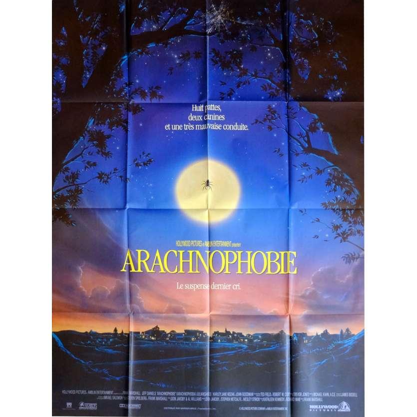 ARACHNOPHOBIE Affiche de film 120x160 cm - 1990 - Jeff Daniels, Franck Marshall