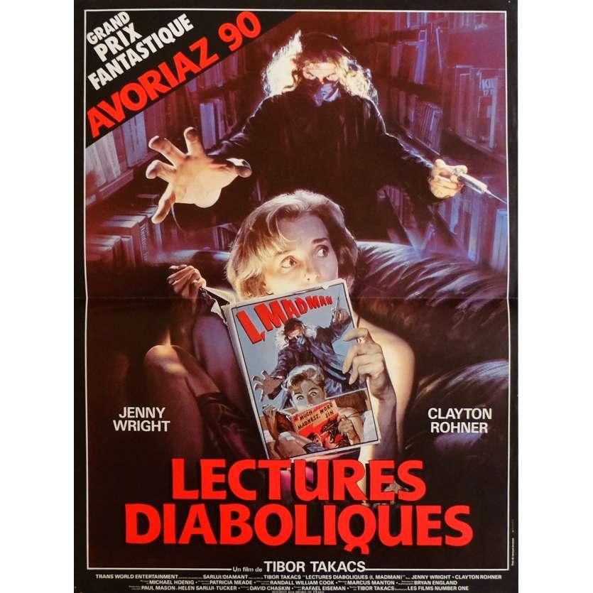 I MADMAN Movie Poster 15x21 in. French - 1989 - Tibor Takacs, Jenny Wright