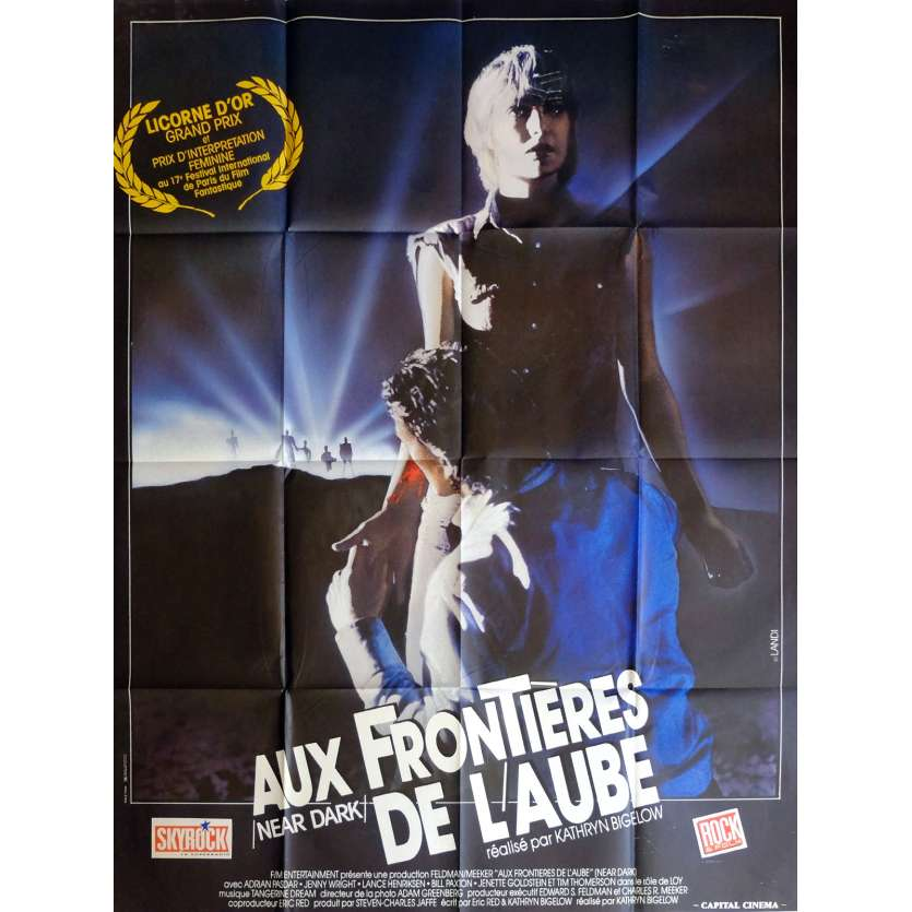 NEAR DARK Movie Poster 47x63 in. French - 1987 - Kathryn Bigelow, Lance Henriksen