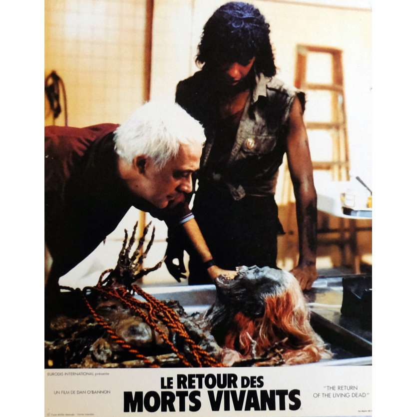 THE RETURN OF THE LIVING DEAD Lobby Cards N4 11x14 in. French - 1985 - Dan O'Bannon, Clu Gulager