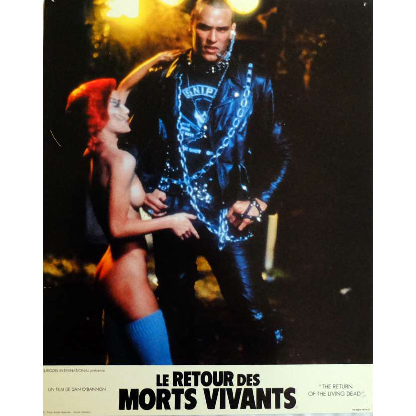 THE RETURN OF THE LIVING DEAD Lobby Cards N5 11x14 in. French - 1985 - Dan O'Bannon, Clu Gulager