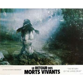 THE RETURN OF THE LIVING DEAD Lobby Cards N12 11x14 in. French - 1985 - Dan O'Bannon, Clu Gulager